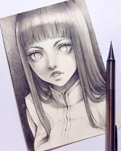 Ladowska picture dibujar arte, dibujos boligrafo и dibujos a lápiz. Anime Drawings Sketches, Anime Sketch, Manga Drawing, Manga Art, Cute Drawings, Anime Art, Drawing Hair, Sketch Art, Pretty Art