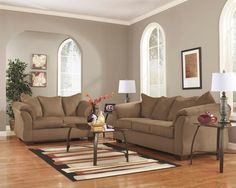 Darcy - Salsa - Sofa & Loveseat by Signature Design by Ashley. Get your Darcy - Salsa - Sofa & Loveseat at Brady Home Furniture, Davenport IA furniture store. Red Living Room Set, Cheap Living Room Sets, Living Rooms, Living Room Ideas Red Leather Sofa, Red Curtains Living Room, Sofa Furniture, Living Room Furniture, Furniture Sets, Modern Furniture