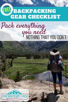 Would you like to go camping? If you would, you may be interested in turning your next camping adventure into a camping vacation. Camping vacations are fun and exciting, whether you choose to go . Backpacking For Beginners, Backpacking Tips, Hiking Tips, Hiking Gear, Ultralight Backpacking, Hiking Shoes, Family Camping, Camping Gear, Camping Hacks