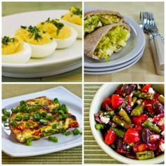 Ten Fun Ideas for Using Leftover Boiled Eggs, Ham, or Asparagus from Easter [Kalyn's Kitchen; all recipes are #SouthBeachDiet friendly]