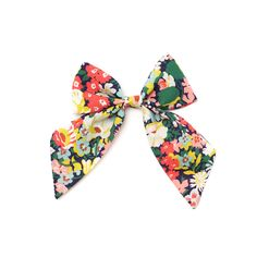 """Sailor Bows // Liberty of London """"The Noelle"""" Bow from Free Babes Handmade"""
