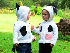 Little Toto Cow girl and boy