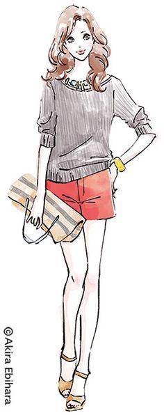 Client: Standard Magazine CO.,LTD _ bea's up 2014.9 Illustration: Akira Ebihara