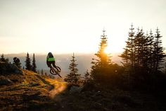 Chasing the gold up high on Khyber Pass Whistler BC. Super exited to be launching my Deep Summer photo exhibition tomorrow evening at the @magicrocktap in Huddersfield should you need an excuse to quench a thirst with some mighty fine beers. -  @magicrockbrewing | @orangebikes | @alturacycling | @singletrackmag | @loweprobags | #deepsummer by samneedham_photo