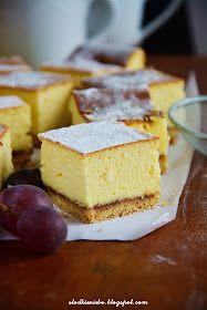 Słodkie Niebo: Sernik wiedeński Sweet Recipes, Cake Recipes, Polish Recipes, Food Cakes, Something Sweet, Cakes And More, No Bake Cake, Goat Cheese, Cornbread
