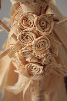 Este es el ramo de nuestra novia de tusa. Tusa - hoja que envuelve el maíz.