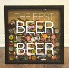 Beer, an open beer