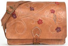 Gusti Leder Unikat D223 Ledertasche Umhängetasche Handtasche