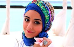 Maldives Turban Hijab Tutorial For Hot Weather Or On Holiday