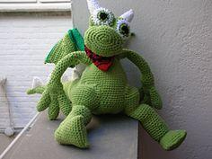 Ravelry: Konqi the dragon pattern by Little Wendy crochet