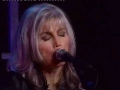 Emmylou Harris - All My Tears Be Washed Away - concert footage with Buddy and Julie Miller