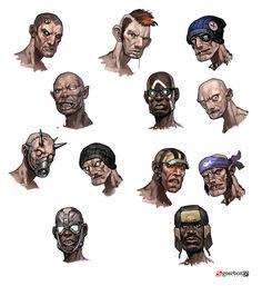 Bandits Optional Faces