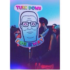 "Hank Hill ""Turn down for what"" totem pole! Haha, the best one I've seen yet! Good Vibes Festival, Love Music Festival, Rave Festival, Okeechobee Music Festival, Edc Las Vegas, Electric Daisy Carnival, Festival Camping, Perler Patterns, Rave Outfits"