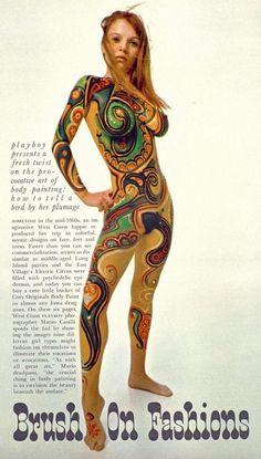 Brush On Fashions Through the Eyes of Mario Casilli Playboy 1968