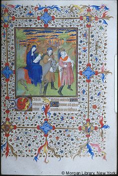 Book of Hours, MS M.1004 fol. 54r - Images from Medieval and Renaissance Manuscripts - The Morgan Library & Museum