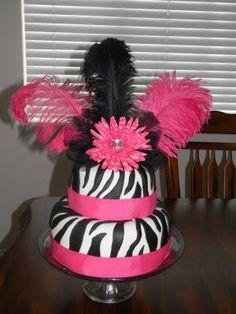 Zebra Cake @Lily Morello Morello Morello  McDonald
