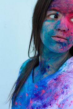 Holi - color festival - powder