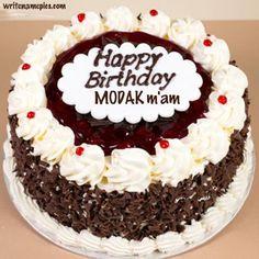 Astounding Writenamepics Happy Birthday Cakes Cake Name Sweet Birthday Cake Personalised Birthday Cards Paralily Jamesorg