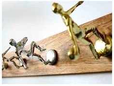 GREAT idea for all of those trophies that we've collected over the years with the kids in so many sports!