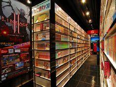 Manga Cafe/Internet Cafe|漫画喫茶/インターネットカフェ