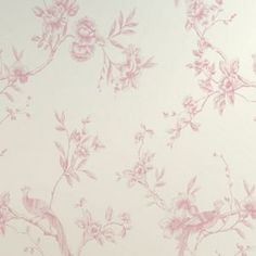 Opera Chinoise Wallpaper - Pink at Homebase -- Be inspired and make your house a home. Buy now. Gothic Wallpaper, Bedroom Loft, Tree Designs, Burlesque, Opera, Floral, Pink, Painting, Inspiration