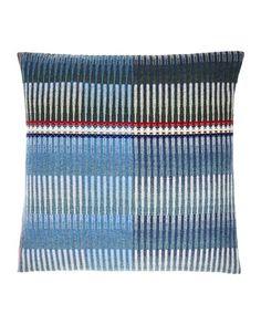 Triangle Weave Cushion
