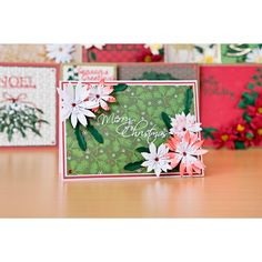 Florartistry Fabulous Folding Flowers and Stamens Large and Small Christmas Dies Collection with Papers Arts And Crafts, Paper Crafts, Create And Craft, Love Craft, Quilling, Paper Flowers, Cardmaking, Festive, Craft Supplies