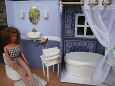 The Dancing Fingers: DIY Barbie Furniture