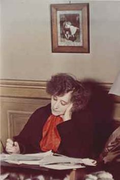 Colette by Gisele Freund, 1939 Colette, Writers And Poets, Book Writer, French Photographers, Documentary Photography, Paris, Global Art, Art Market, Powerful Women