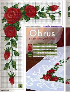 Anaide Ponto Cruz: Bom dia!lindos esses graficos para mesa quadrada,espero que gostem!!!!