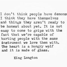 Demons. #life #love #poetry #poems #poem #quote #quotes #women #woman #men #man #book #book #portland #pdx #pnw #austinlongton #writersofinstagram #poetsofinstagram