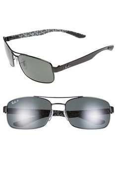 Ray-Ban 62mm Polarized Sunglasses available at  Nordstrom Locs Sunglasses 6a93e33de0