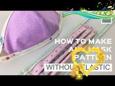 How to Make a Face Mask WITHOUT Elastic ... How to Make a Face Mask with Ties How to Make a Face Mask WITHOUT Elastic ... How to Make a Face Mask with Ties - YouTube<br>