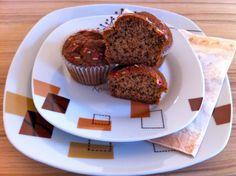 Fahéjas-diós muffin