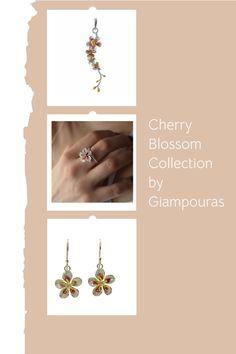 cherry blossom ring #sakura #botanicalring Titanium Jewelry, Small Business Marketing, Cherry Blossom, Promotion, Fashion Accessories, Eye, Group, Ring, Street
