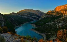 Congost River Mountain Range Spain