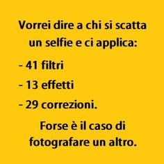 Sarebbe meglio. (by @pio_palmieri) #tmlplanet #selfie Jokes Quotes, Funny Quotes, Italian Humor, Just Smile, Selfie, True Words, Good Mood, Funny Moments, Sentences