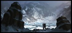 Glacier_Wasteland_by_Gaius31duke