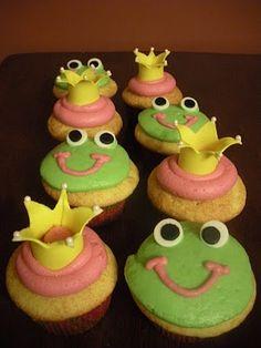 Princess & the Frog cupcakes