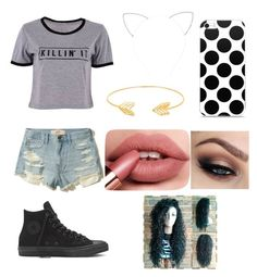 """Untitled #144"" by kensoooo on Polyvore featuring Hollister Co., Forever 21 and Lord & Taylor"