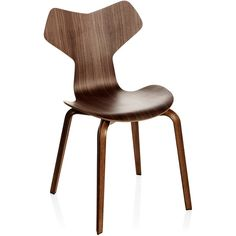 Grand Prix Chair With Wood Legs (4,845 CNY) found on Polyvore featuring home, furniture and chairs
