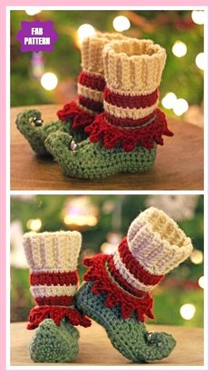 Crochet only Elfin & Crochet around elf slippers pattern elfin hakeln haus .Crochet only Elfin & Crochet around elf slippers pattern elfin hooking slippers patternFast handmade giftsFast handmade gifts, gifts handmade Elf Slippers, Crochet Slippers, Crochet Gifts, Crochet Baby, Knit Crochet, Crochet Sweaters, Crochet Beanie, Crochet Braids, Crochet Dolls