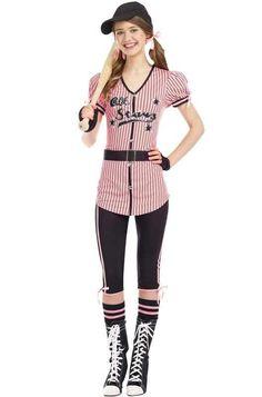 All Stars Sweetie Baseball Teen Halloween Costume #Dreamgirl