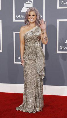 Kelly Osbourne you rocked the Grammy's 2012