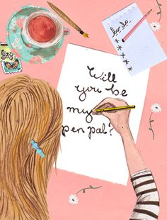 pen pal love - anyone want a pen pal?! I would love one