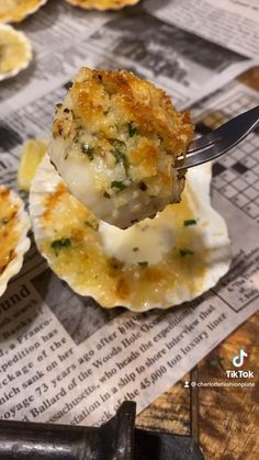 Seafood Bake, Seafood Dinner, Fish And Seafood, Shellfish Recipes, Seafood Recipes, Appetizer Recipes, Appetizers, Quick Recipes, Quick Meals