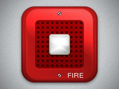 Fire Alarm iOS Icon