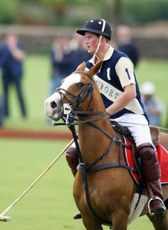 Prince Harry - Prince William and Prince Harry play polo