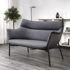 First look: IKEA x HAY Ypperlig collection - Democratic Design Day - grey HAY sofa