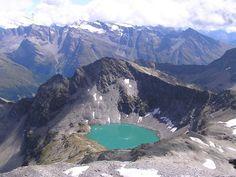 View from Wildenkogel in Hohe Tauern mountains, Austria